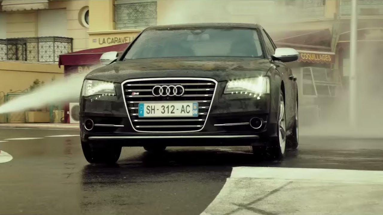 Download Audi S8 vs Police,Monaco,Transporter 4
