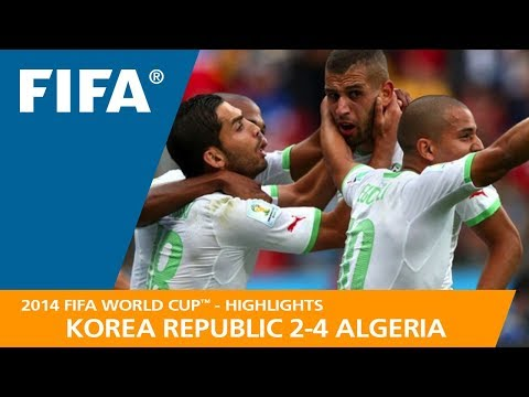 KOREA REPUBLIC v ALGERIA (2:4) - 2014 FIFA World Cup™