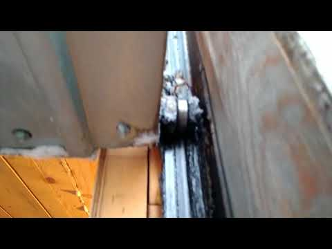 видео: Простые подъёмные ворота часть 3.