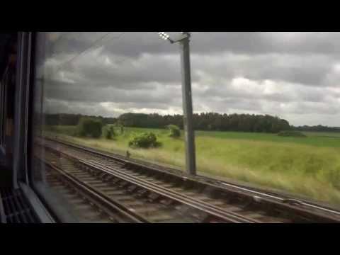 France - TGV Duplex from Paris to Marseille (783 Km) - Part-1
