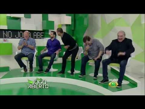 """Denilson dança """"Malandramente"""" no Jogo Aberto"""