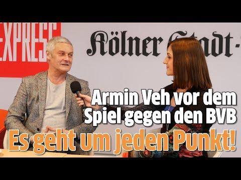 FC-Sportchef Armin Veh zur bevorstehenden Partie gegen Borussia Dortmund