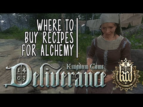Kingdom Come: Deliverance - Where to Buy Alchemy Recipes