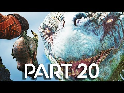 God of War 4 Walkthrough Part 20 - World Serpent - GOD OF WAR GAMEPLAY!! (PS4 PRO 60FPS)