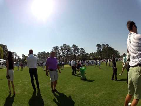 A walk around Augusta National 2012