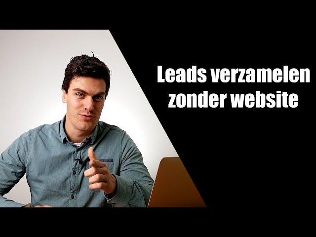 61 leads zonder website of landingspagina