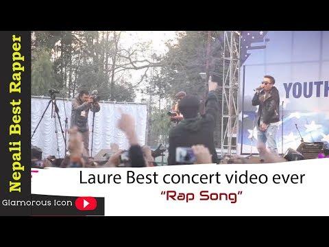 Laure    Nepali Best Rapper Ever    Nephop king    Laure Best concert video ever   