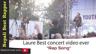 Video Laure || Nepali Best Rapper Ever || Nephop king || Laure Best concert video ever || download MP3, 3GP, MP4, WEBM, AVI, FLV Juni 2018