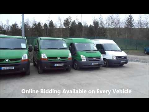 An Post Vans at Wilsons Auctions