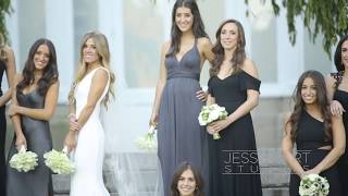 Super luxe Jewish wedding with a Vera Wang Bride in New York City