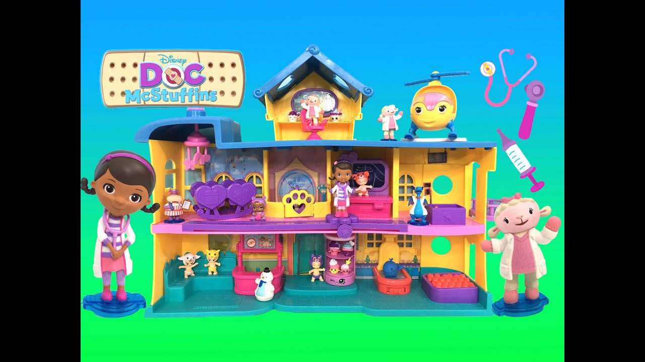 Doc McStuffins Toy Hospital Playset Giant Doctor's Check ...
