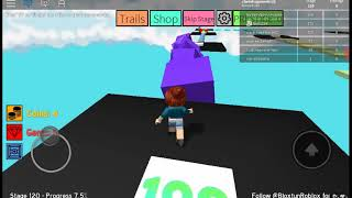 First video of Roblox with my Vos (Mega fun Obby) (read description PFV) ❤
