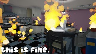 i burnt my house down trying to kill a spider