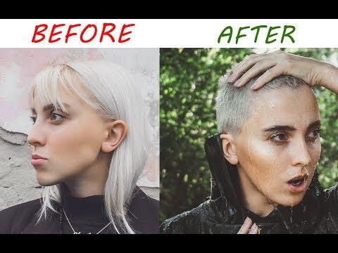 БРЕЮСЬ НАЛЫСО . плюсы коротких волос  |annyylord