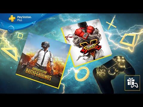 PS Plus   Septembre 2020   PUBG et Street Fighter V   PS4