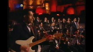 عازف الجيتار وحيد ممدوح مع الفنانه ورده