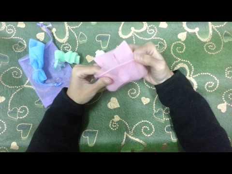 香皂袋折法分享