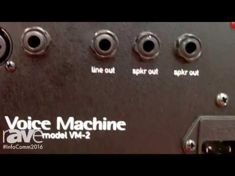 InfoComm 2016: Sound Projections Exhibits Voice Machine VM-2 System