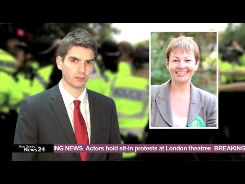 Caroline Lucas MP hit with 'EDO' for anti-fracking campaign?