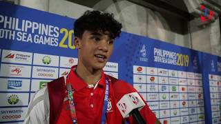 Singapore End 2019 SEA Games Football Campaign On A High