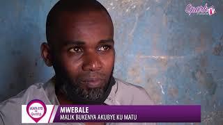 MWEBALE : Malik Bukenya akubye ku matu