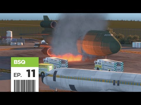 Cities Skylines: FBS International Airport — Part 11 — Fire Training Facility