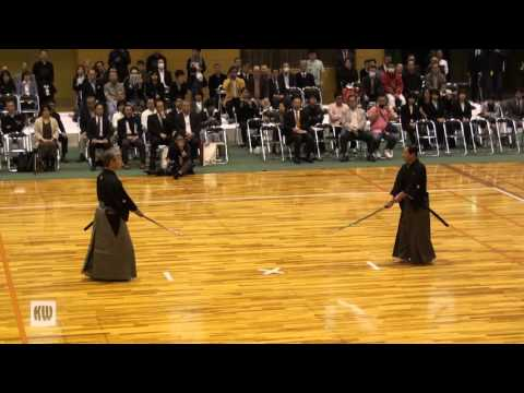 All Japan 8-dan Tournament — Nihon Kendo Kata enbu
