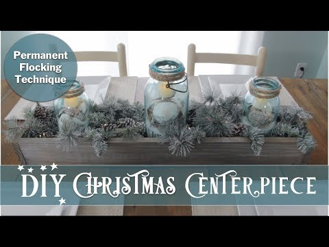 DIY Christmas Centerpiece Challenge | Christmas 2018 | Craft with me
