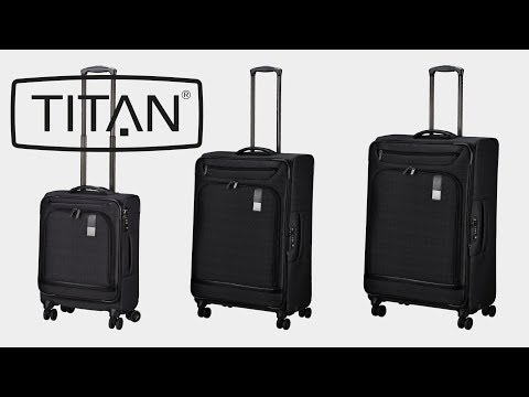 Titan Suitcase 4W Trolley
