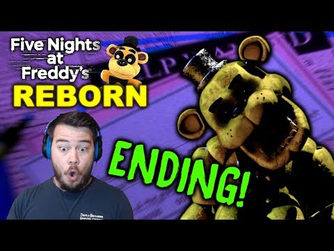 GOLDEN FREDDY TURNED OFF THE LIGHTS!! | Five Nights at Freddy's: Reborn (Nights 5 and 6) ENDING! thumbnail