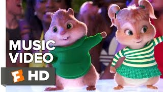 "Alvin and the Chipmunks: The Road Chip - Redfoo Music Video - ""Juicy Wiggle"" (2015) HD"