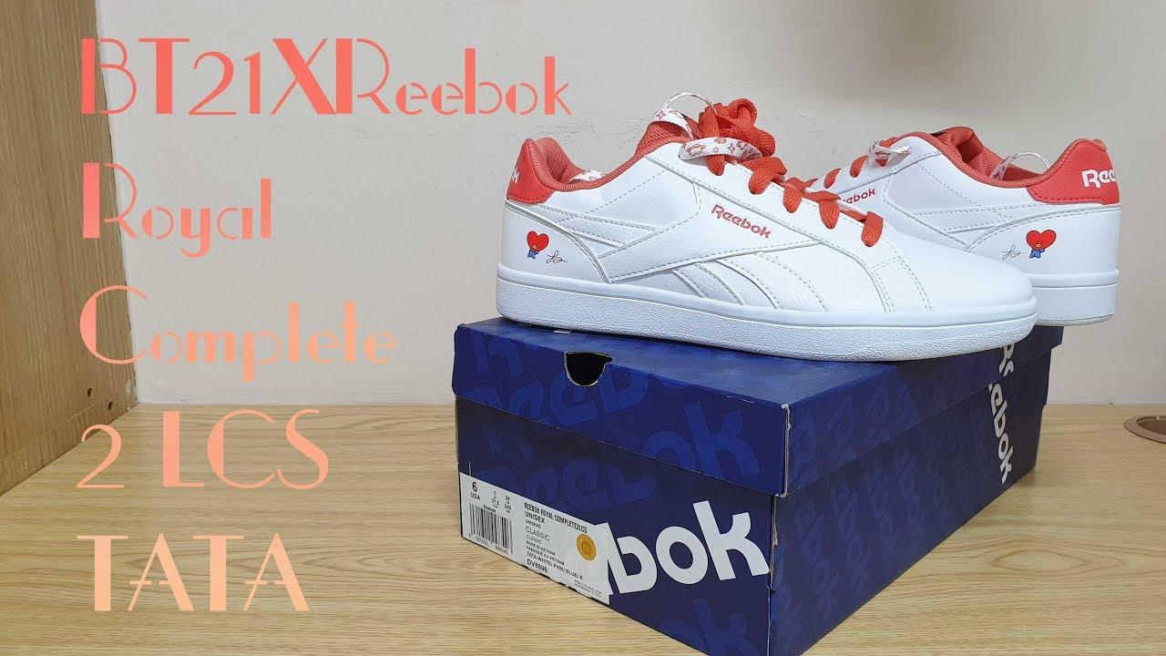BT21 X Reebok Royal Complete 2 LCS
