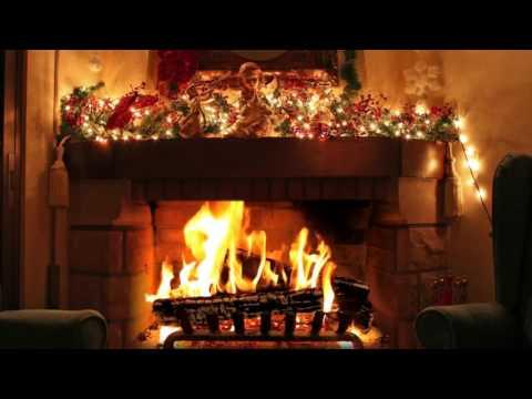 Christmas music mix | virtual fireplace [HD]