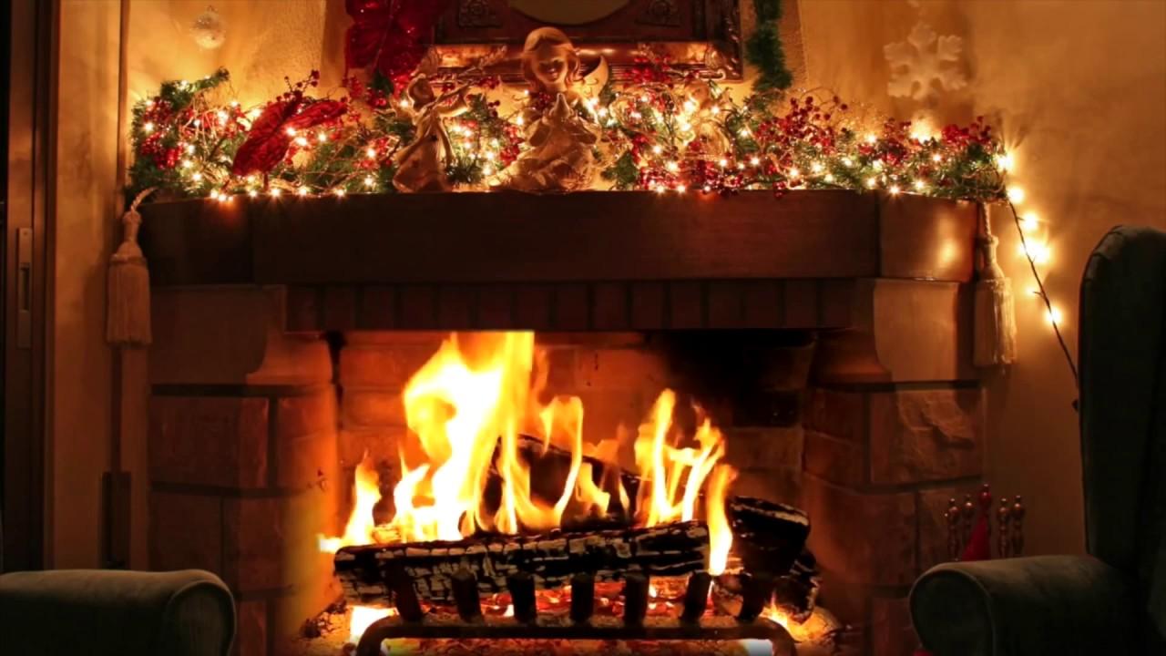 Christmas music mix   virtual fireplace [HD] - YouTube