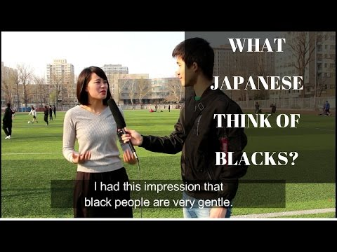 What Japanese Think Of Black People