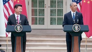 president obama and the president of the people s republic of china hold a joint press conference