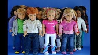 American Girl Doll vs Journey Girl Doll