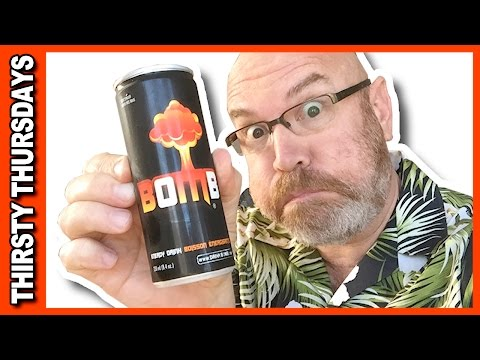 Bomb Energy Drink Review With Special Guest My Dog, Sam