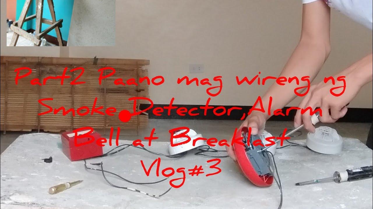 Download Paano mag wireng ng smoke Detector, Break last and alarm Bell ( part 2 )