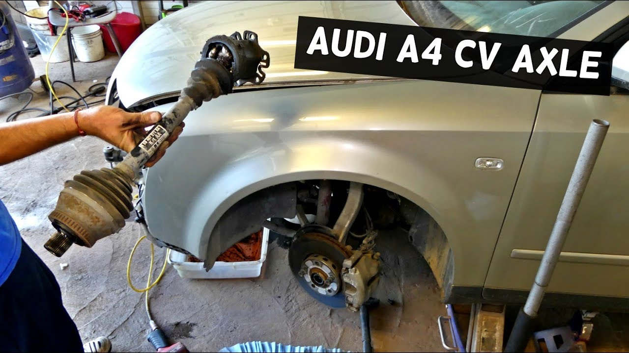 audi a4 b6 front cv axle shaft replacement removal youtube rh youtube com 2011 Audi TT Owner's Manual Audi TT Service Manual