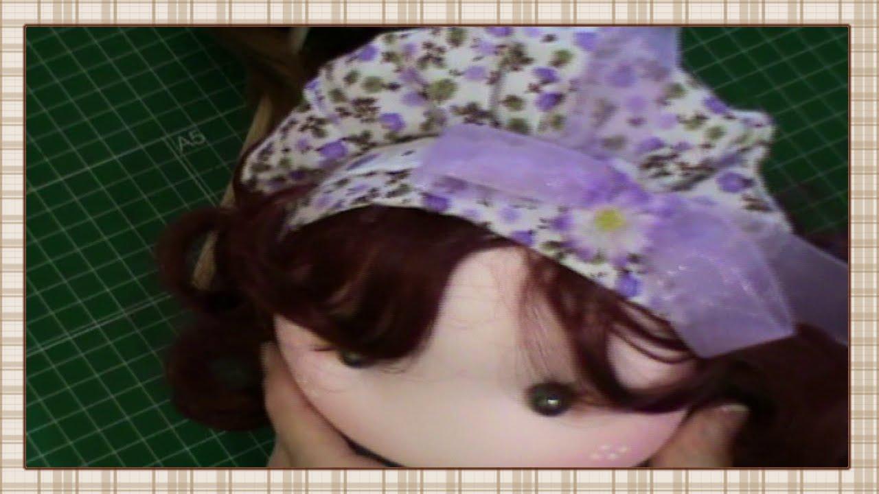 Tutorial  Gorro para muñeca - YouTube d19754f778f