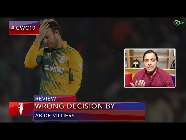 Shoaib Akhtar Slams ab de villiers for retiring and requesting again