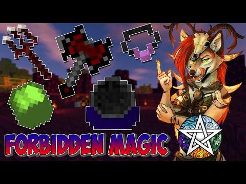 Обзор/Гайд по моду Forbidden Magic на Майнкрафт версии 1.7.10