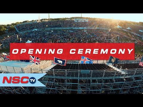 2016 Opening Ceremony at USA CUP // NSCtv