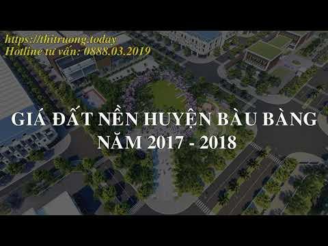 Dự kiến bảng giá đất nền và căn hộ các khu đô thị tại Bàu Bàng – Bình Dương nửa cuối năm 201