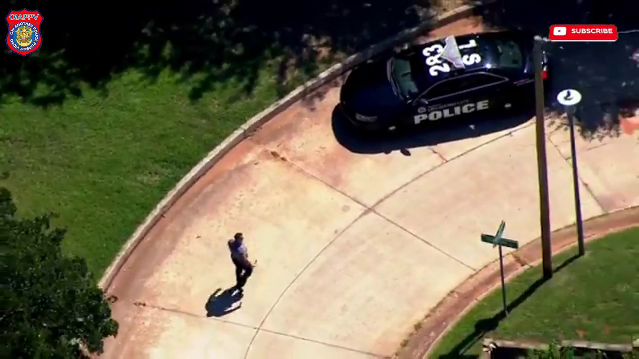 Police Search For Two Suspects After Police Chase In Oklahoma City - July 6, 2020