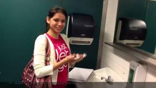 """""""Shake Shake, Take Less Paper!"""" Paper Towel Waste Reduction"""