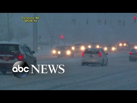 Nor'easter slams East Coast as West Coast soaked by powerful storm