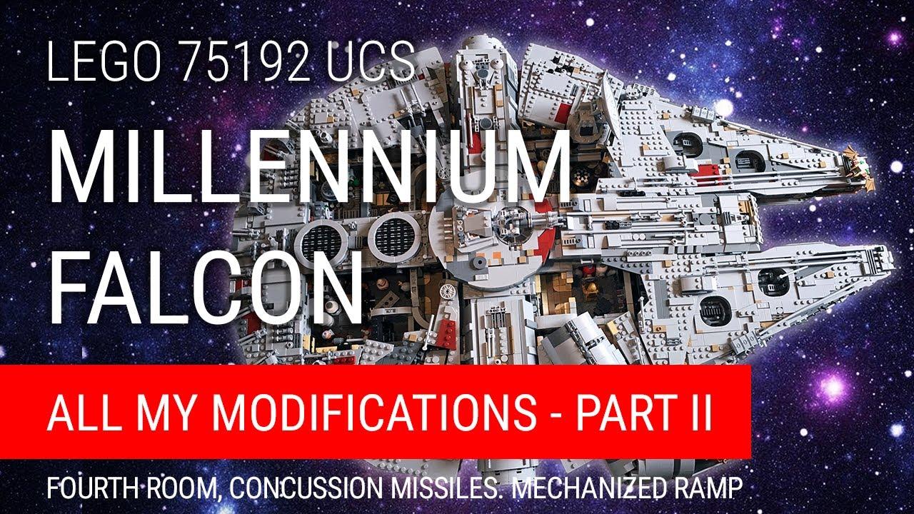 SUPPORTO VERTICALE PER LEGO Star Wars UCS Millennium Falcon 75192-3D Stampato