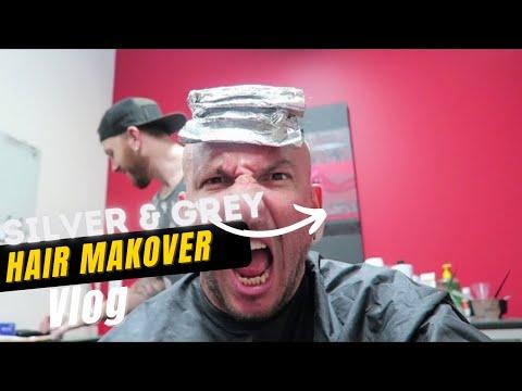 SILVER:GRAY HAIR MAKEOVER!!!!